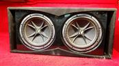 """Kicker CompVR 12"""" Subwoofers - Installed in Box"""